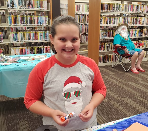 Christmas in July William B. Harlan Memorial Library Tompkinsville KY Monroe County